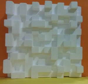 پنل آکوستیک مربع qrd دو بعدی ، دیفیوزر ، آکوستیک