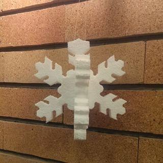 دانه برف سه بعدی ویژه تزیین جشن مراسم مدرسه مهد کودک دانه برف یونولیتی صحنه دکور کنسرت